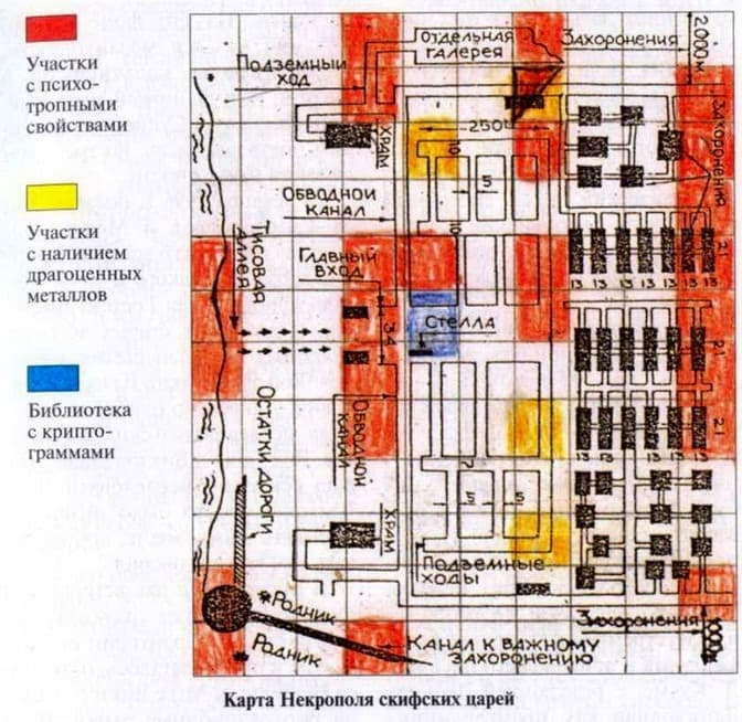 Схема зони Супперта