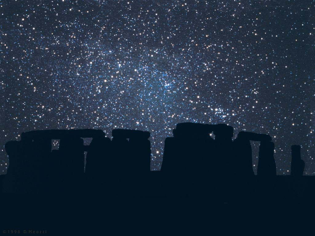 stonehenge-starry-night