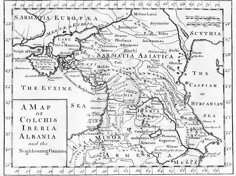 800px-Map of Colchis Iberia Albania and the neighbouring countries ca 1770