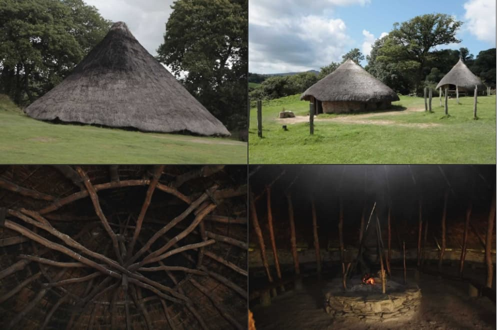 Celtic Round Houses