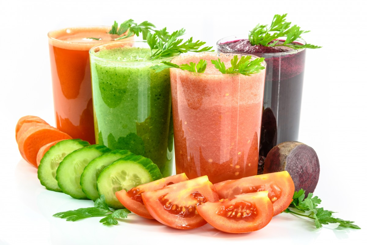vegetable juices vegetables secluded white fresh glass carrot juices-450225