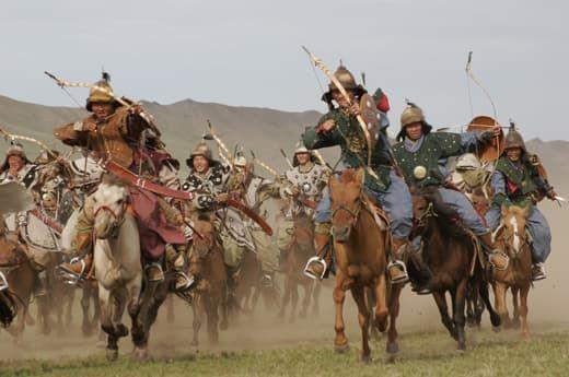 Атака монголів татар
