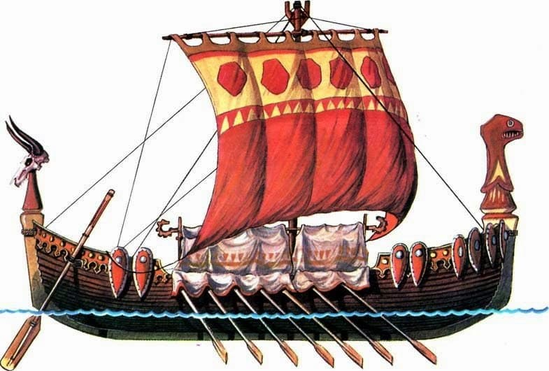 kievan-rus-built-a-light-open-vessel-called-a-lodya-the-byzantines-called-it-in-greek-monoxile-because-it-was-made-from-a-single-tree-usually-the-hollowed-out-trunk-of-an-oak-or-linde