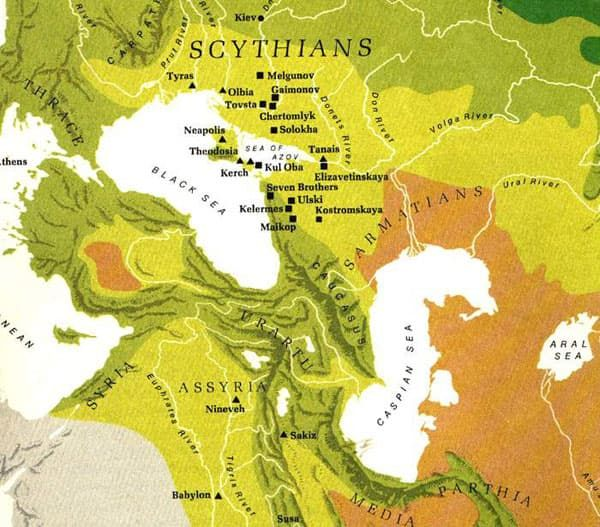 Scythia - old map